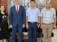 Maliye Bakanı Amcaoğlu, Hazine-Sen ile görüştü