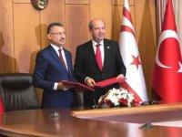 T.C. ile KKTC arasında protokol imzalandı, içerik ise açıklanmadı