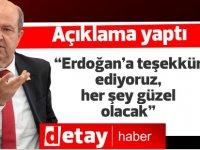"""Tatar: """"Erdoğan'a teşekkür ediyoruz, her şey güzel olacak"""""""