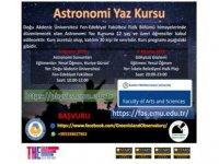 DAÜ Fizik Bölümü'nden astronomi yaz kursu