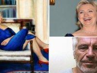 Hücresinde ölü bulunan ABD'li milyarder Epstein'in evinden kadın elbiseli Bill Clinton tablosu çıktı