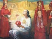 Türkmenistanlı Sanatçılar Sergisi  Hasan Taçoy tarafından açılıyor