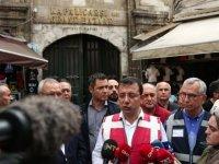 İstanbul'da su baskınları - İmamoğlu: Meteoroloji'den ikaz çok gecikmiş