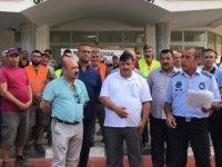 Mağusa Belediyesi'nde grev
