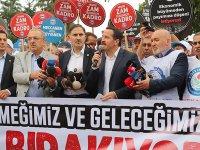 Memur-Sen eyleme gitti, Ankara'da memurlar iş bıraktı