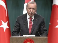 Erdoğan ve Tatar Basın toplantısı... Tatar bir anlaşmada Türkiye'nin müdahale hakkı olmalı!