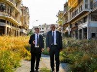 TC Turizm Bakanı Ersoy, KKTC'de Kapalı Maraş bölgesini inceledi