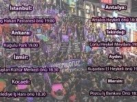 """""""Yaşamak istiyoruz!"""": Emine Bulut'un cinayetine karşı Türkiye'de çok sayıda ilde protestolar düzenleniyor"""