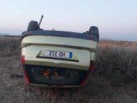 Nergisli kavşağındaki trafik kazasında bir kişi ağır yaralandı