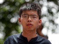 Hong Kong'un 'Şemsiye Devrimi' lideri serbest bırakıldıHong Kong'un 'Şemsiye Devrimi' lideri serbest bırakıldı