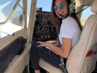 İlk Kıbrıslı Türk kadın pilot Merve Özkıran: Kadınlar, erkeklere göre daha iyi uçuyor