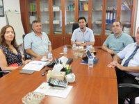 DAÜ Sürekli Eğitim Merkezi (DAÜ-SEM) Yönetim Kurulu EMO'yu ziyaret etti.