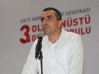 Hür-İş'te Ahmet Serdaroğlu başkan seçildi