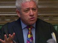 İngiltere meclis başkanı John Bercow da görevi bırakıyor