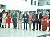 Sucuoğlu, Kıbrıs Modern Sanat Müzesi için hazırlanan sergilerin açılışını yaptı