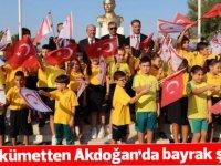 Başbakan ve MEB yeni öğretim yılını Akdoğan'da açtı
