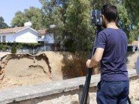 Ledkoşa'da yıkılan surlar tamir ediliyor