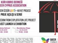 """Kuir Kıbrıs Derneği """"HAYAT!"""" Projesi Açılış Etkinliği Düzenliyor"""