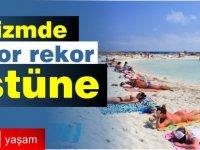 Güney Kıbrıs'a Ocak-Ağustos 2019'da 2 milyon 735 bin 839 turist