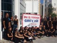 Girne'de Vergi Dairesi Şubesi ile Trafik Dairesinde uyarı grevi
