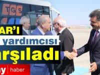 Başbakan Tatar'ı  Ankara'da  Vali Yardımcısı karşıladı
