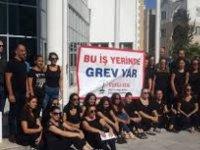 Trafik Dairesi Ehliyetler Birimi ve Motorlu Araçlar Girne Şubesi'ndeki uyarı grevi devam ediyor