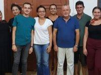 Gençlik Merkezi Birliği'nin Başkanlığı'na Fatoş Giritli getirildi.