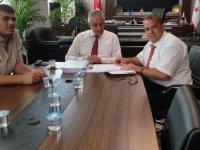YDÜ İnşaat ve Çevre Mühendisliği Fakültesi'nin hazırladığı küresel iklim değişikliği raporu Taçoy'a sunuldu