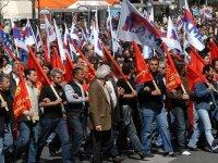 Yunanistan'da işçiler genel greve gidiyor