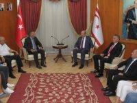 Tatar, KKTOK Başkanı ve heyetini kabul etti