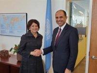 Özersay, BM Genel Sekreter Yardımcısı Di Carlo ile görüştü