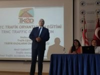 Trafik Kazalarını Önleme Derneği LAÜ öğrencilerine Trafik Oryantasyon eğitimi verdi