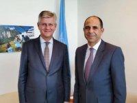 """Özersay: """"Lacroix ile Kıbrıs'taki BM Barış Gücü bağlantılı konuları detaylı şekilde ele aldık"""""""