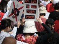 Güney Kore: 'Görüntüleri gizlice kaydedilen kadın intihar etti'