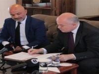 YDÜ ve Ankara Hacı Bayram Veli Üniversitesi  arasında yarışma  protokolü imzalandı