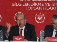 Tatar: Akıncı müzakerelere katılmasın!