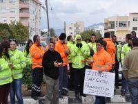Flaş! CAS çalışanları Başbakanlık önünde protesto yapıyor