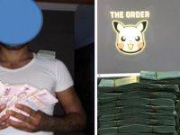 100 bin kişinin banka bilgilerini ele geçiren zanlılar, para desteleriyle fotoğraf paylaşmış