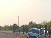 Lefkoşa – Gazimağusa Anayolu'nda korkutan kaza