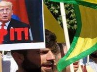 Güney Kıbrıs'ta Suriye'deki Savaşla ilgili protesto gösterisi