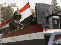 Barış Pınarı Harekatı: Suriye ordusu, Kürt gruplarla varılan anlaşma uyarınca kuzeye ilerlemeye başladı