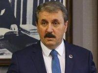 BBP Genel Başkanı Destici'den Akıncı'ya hadsiz sözler: Hain ve kahpe sözlerin sahibi, sözde cumhurbaşkanı