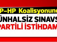 UBP-HP'den münhalsiz sınavsız iki istihdam daha!