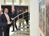 Tolga Atakan  Modern Sanat Müzesi'ndeki iki ayrı serginin açılışını yaptı