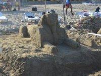 DAÜ XIII. Kumdan Heykel Festivali ve Yarışması renkli görüntülere sahne oldu