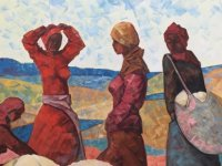 Kırgızistan Sanatçıları Resim Sergisi Faiz Sucuoğlu tarafından açılıyor