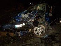 Son Dakika Haberi: Çok feci trafik kazası... Yüz yüze çarpıştılar...