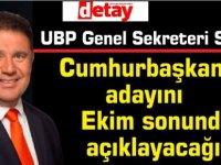Saner: UBP adayını belirlerken hiçbir şeyden etkilenmeyecek