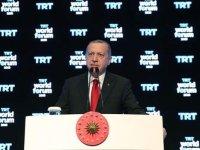 Erdoğan: Tüm Batı teröristlerin yanında yer aldı, hepsi birlikte bize saldırdı