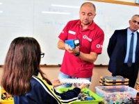 """""""Lego Setleri ile Enerji Verimliliği Kodlama Eğitimi"""" Geçitkale İlkokulu'nda başladı"""